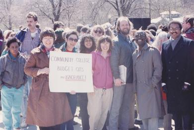 MASSACHUSETTS COMMUNITY COLLEGE RALLY (1989)