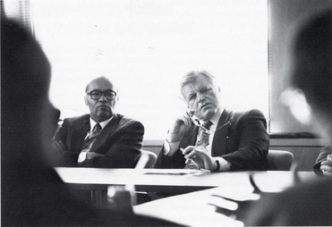 SENATOR TED KENNEDY VISITS RCC (1992)