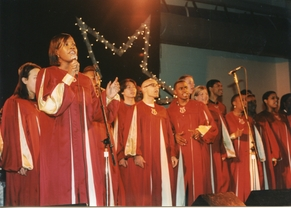 CHOIR SINGS AT THE RCC 25TH ANNIVERSARY GALA (1998)