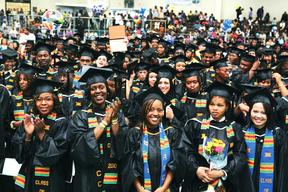 RCC STUDENTS AT GRADUATION