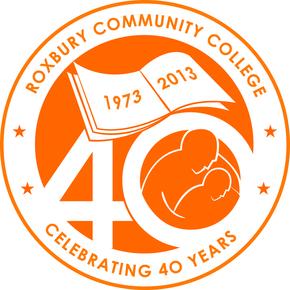 ROXBURY COMMUNITY COLLEGE 40TH ANNIVERSARY LOGO (2013)