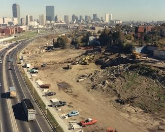 CONSTRUCTION OF ROXBURY COMMUNITY COLLEGE (1985)